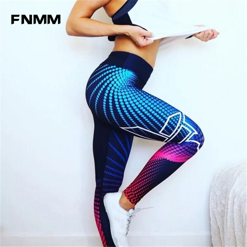 63d166ac061ee Fitness Sport Pants Sexy High Waist Yoga Leggings For Women Hip Up Yoga  Pants Workout Clothes Tight Jogging Femme Sport Legging