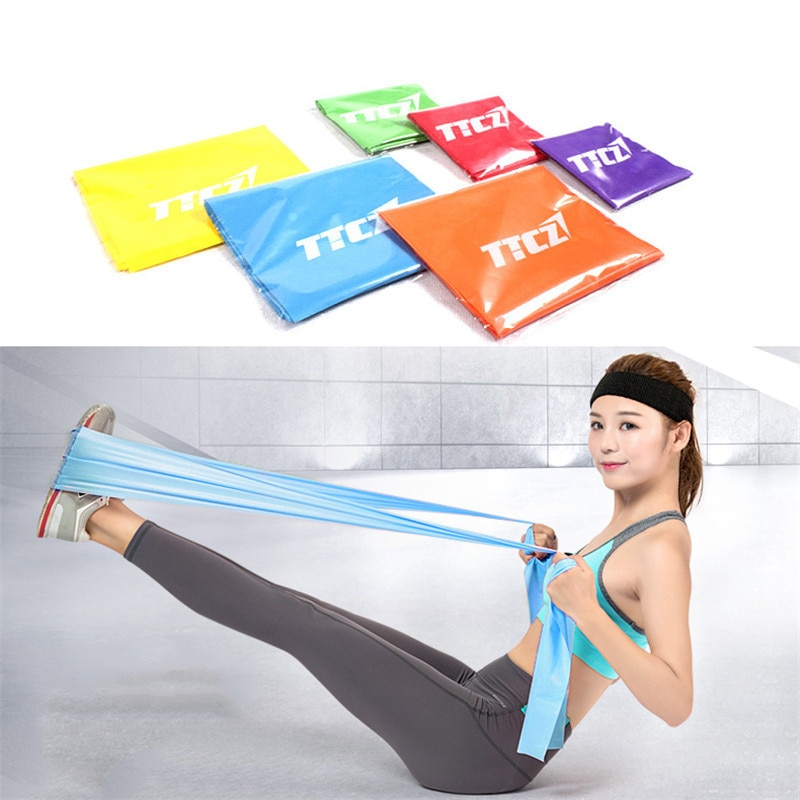 Fitness & Body Building 1pcs Home Fitness Leg Muscles Fitness Exercise Fitness Band Workout Equipments Resistance Bands Hot Sale Resistance Bands Set Fitness Equipments