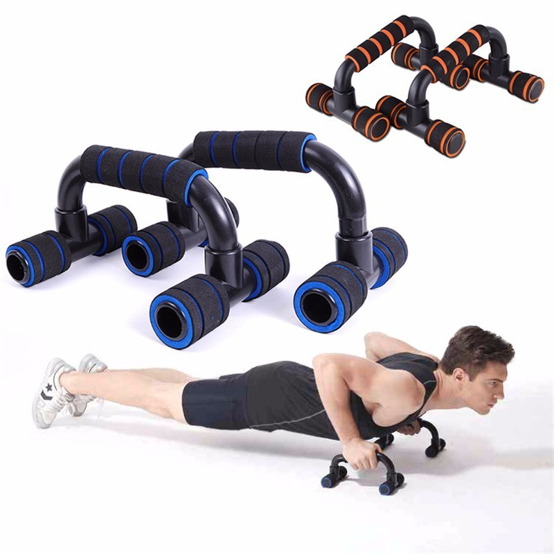Push Up Stands Grips Home Gym Fitness Exercise Handle Bar Workout Training Equip